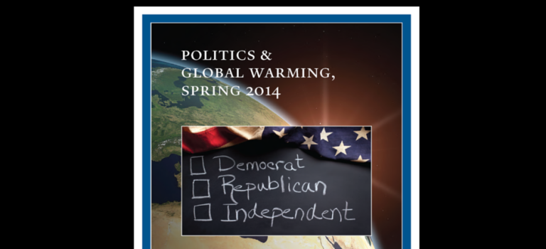 Politics and Global Warming, Spring 2014