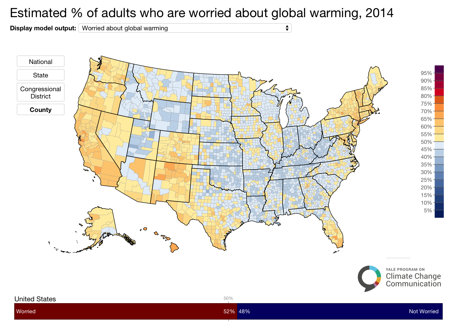 Image for A Majority of Americans are Worried About Global Warming