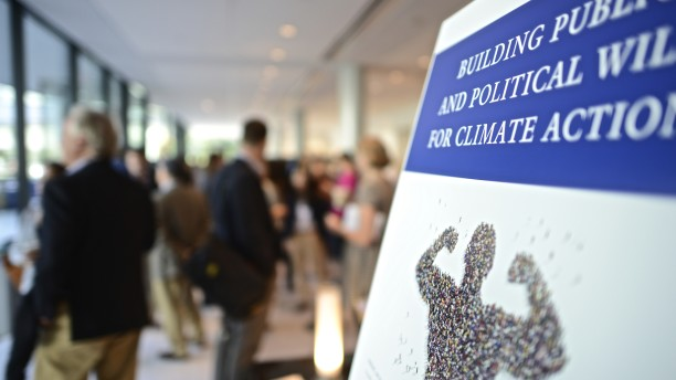 Conference: Building Public and Political Will  for Climate Action