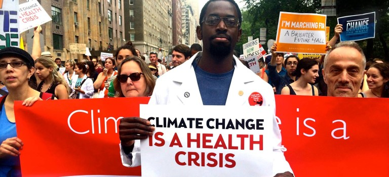 Uncovering the Truth about Global Warming's Health Impacts at the People's Climate March