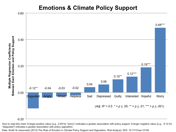 Image for Emotions & Climate Policy Support