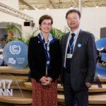Lisa Fernandez of Yale FES w/ Haibin Zhang of Peking University
