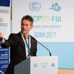 Nick Nutall, UNFCCC Communications Director, providing the welcome.