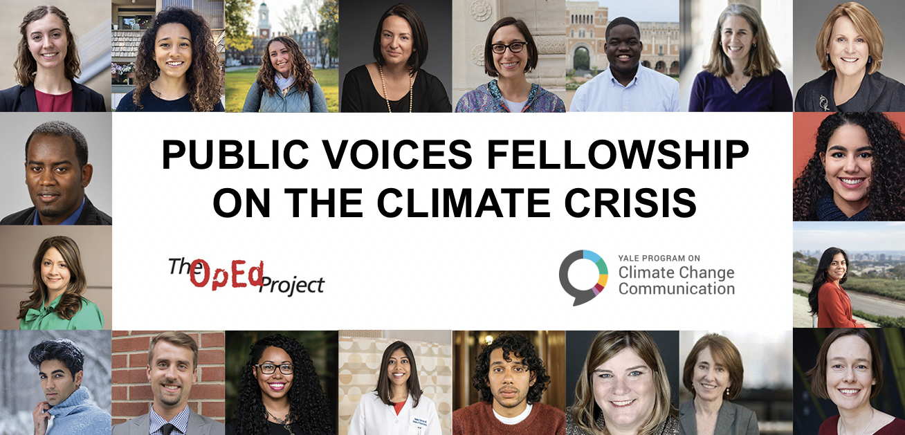 Public Voices Fellowship on the Climate Crisis