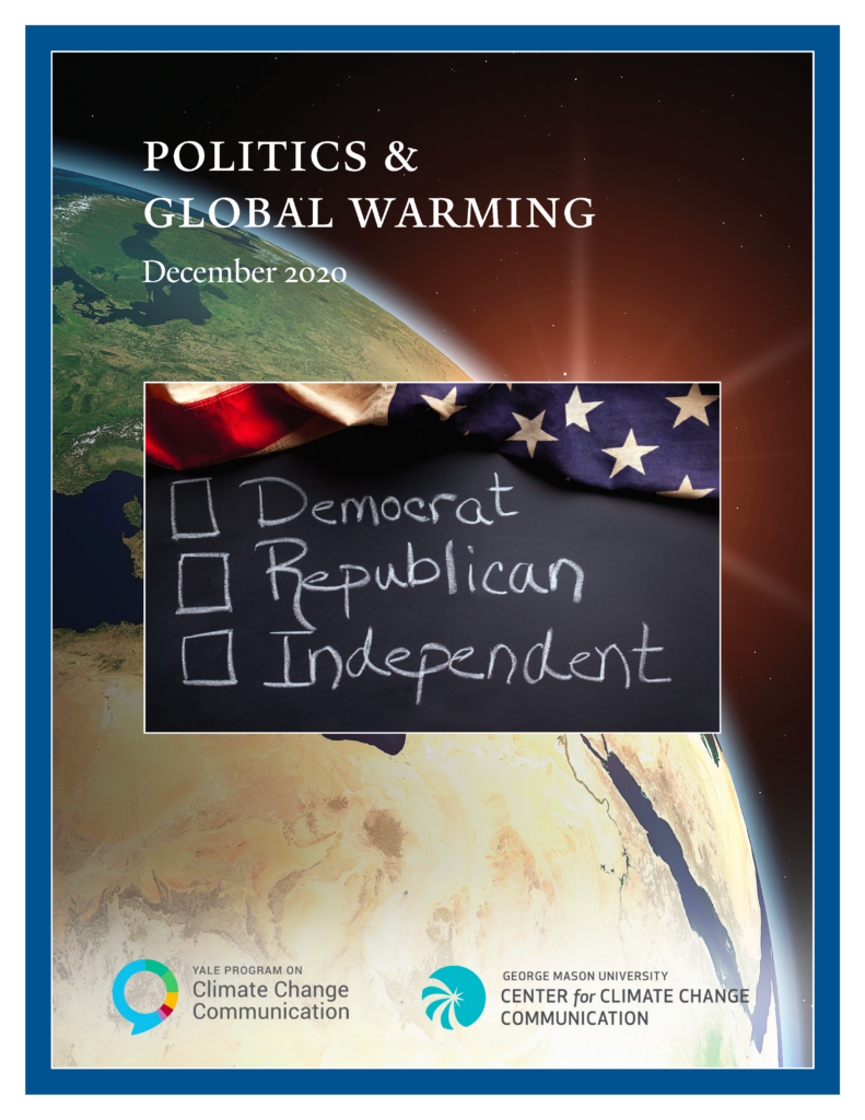 Politics & Global Warming, December 2020