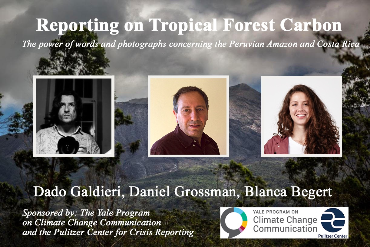 Reporting on Tropical Forest Carbon: The power of words and photographs concerning the Peruvian Amazon and Costa Rica